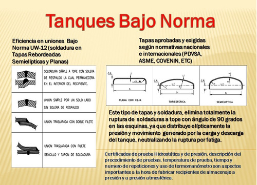 tanques para gasoil - diesel - combustibles (fabricante)