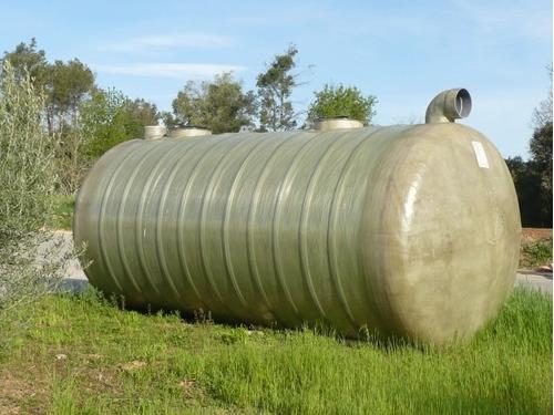 tanques para sépticos en fibra de vidrio