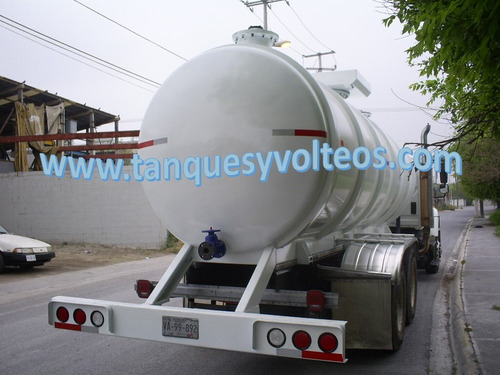 tanques pipa para químicos (sosa, hipoclorito de sodio, etc)