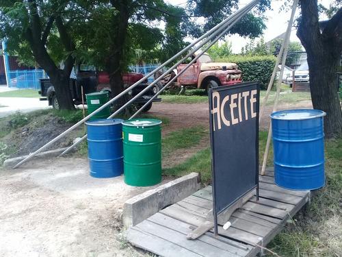 tanques tambores de 200 litros de primer uso