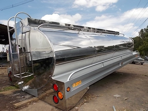 tanques y pipas de acero inoxidable para camión