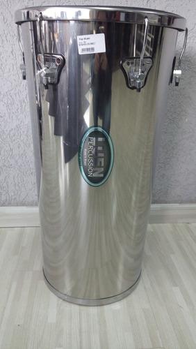 tantan inox luen cônico 70x14x12  pele napa