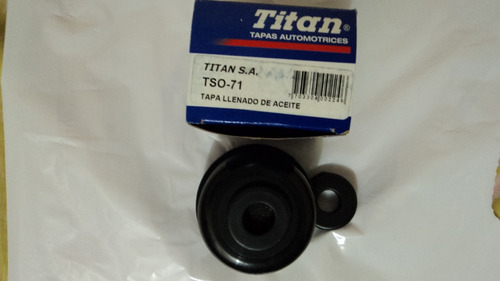 tapa aceite. tso-71. original titan. explorer expedition