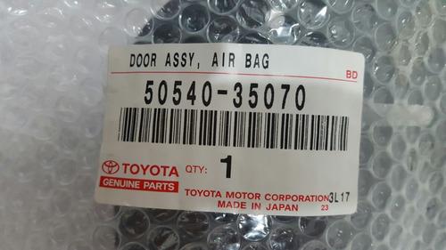 tapa airbag copiloto toyota 4runner 2006-2009 nuevo original