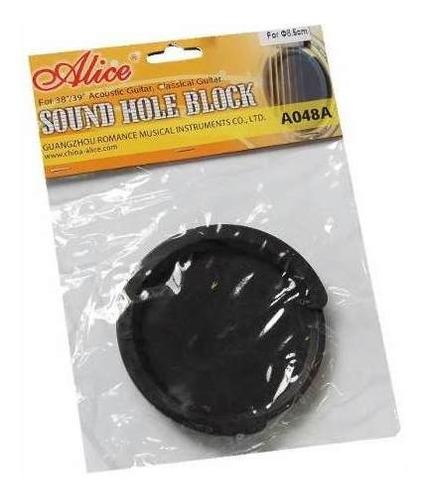 tapa boca anti acople alice guitarra acustica 8,5cm