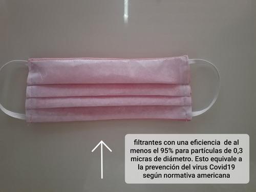 tapa boca con sistema filtrante