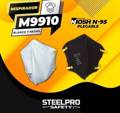 tapa boca n95 steel pro niosh certificados al x mayor