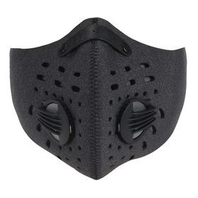 Tapa Bocas Doble Valvula Respiracion Con Velcro Ajustable!