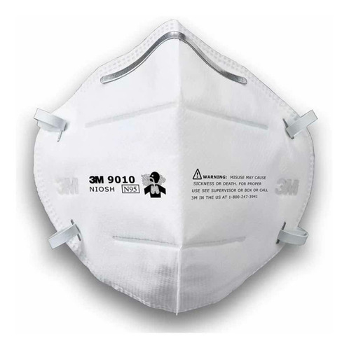 tapa bocas n95 de 3 m ref 9010 anti virus industrial