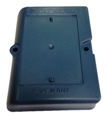 tapa caja conexión para bomba 1/2hp pkm60 pedrollo