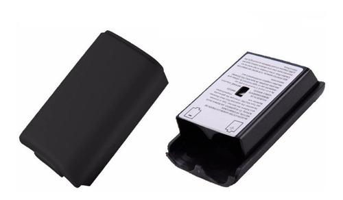 tapa caja portapila batería para  control xbox 360 original