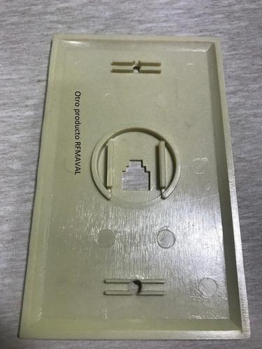 tapa cajetin telefonico no incluye conector