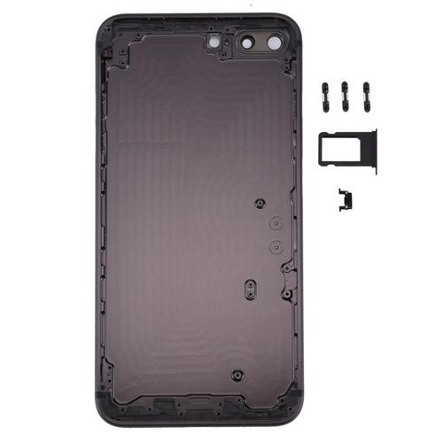 tapa carcasa 5 1 cubierta full metal para iphone 8 vibrador