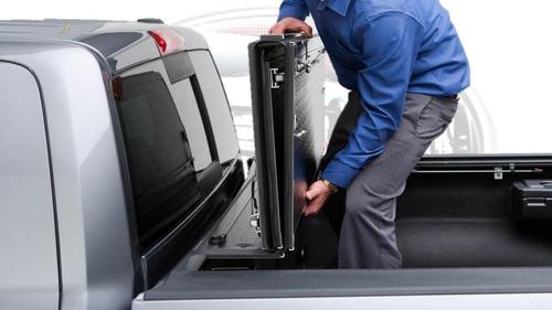 tapa cubre batea undercover flex para ford super duty 04-14