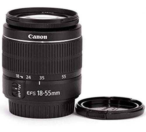 tapa de 58 mm diametro lente canon ef-s 18-55 mm
