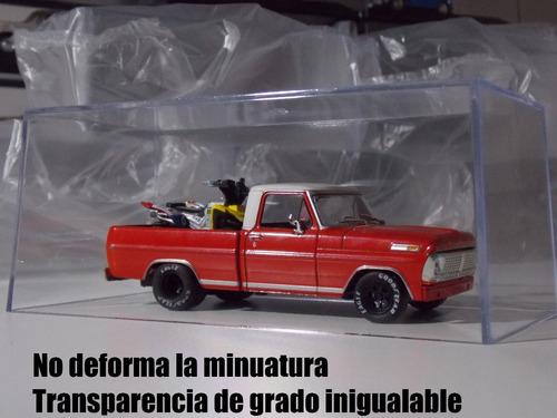 tapa de acrilico 1/43 autos inolvidables salvat x20 unidades