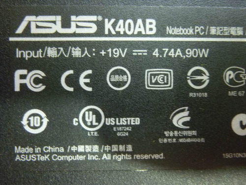 tapa de base inferior para notebook asus k40ab k40 hot sale