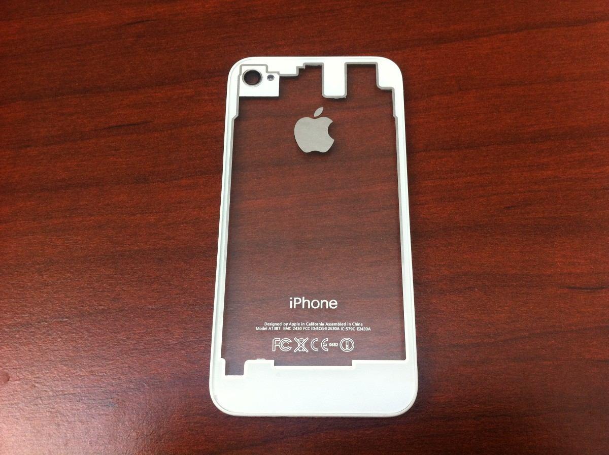 dacaee4810a tapa de bateria negro o blanco transparente iphone 4/4s. Cargando zoom.
