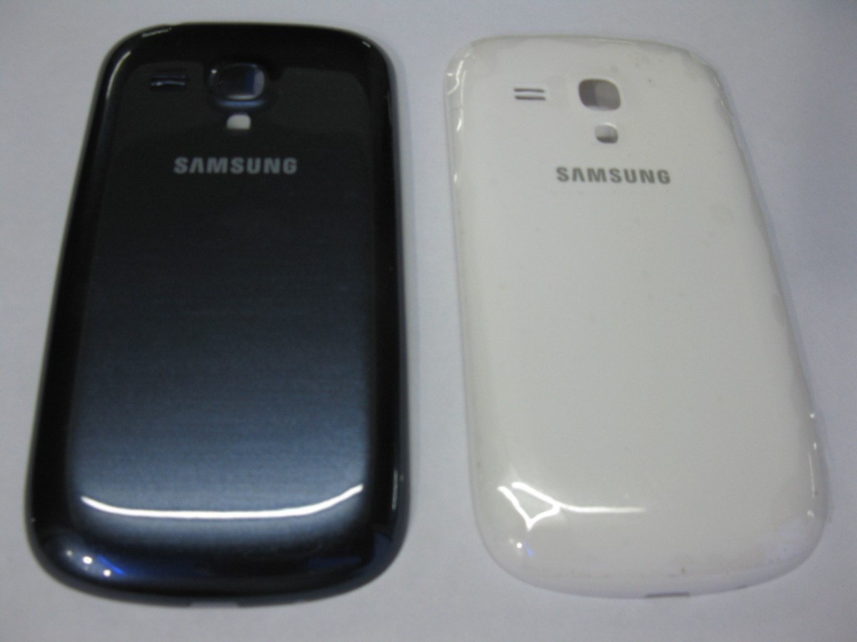 a21d8b4b573 tapa de bateria samsung galaxy s3 mini i8190 a zul y blanco. Cargando zoom.