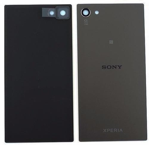 tapa de bateria sony xperia z5 compact gris
