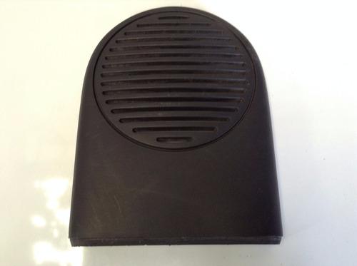 tapa de bocina delantera renault clio platina original c/u