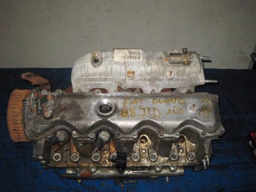 tapa de cilindros fiat ducatto 2.8-td importada de europa