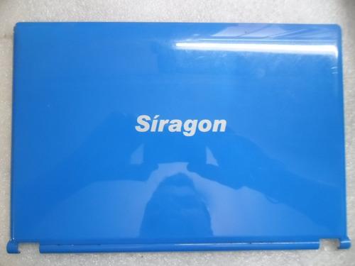 tapa de display netbook siragon ml-1030 color azul