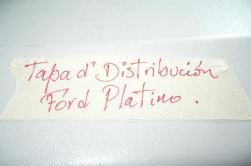 tapa de distribución distribuidor ford platino dc-41