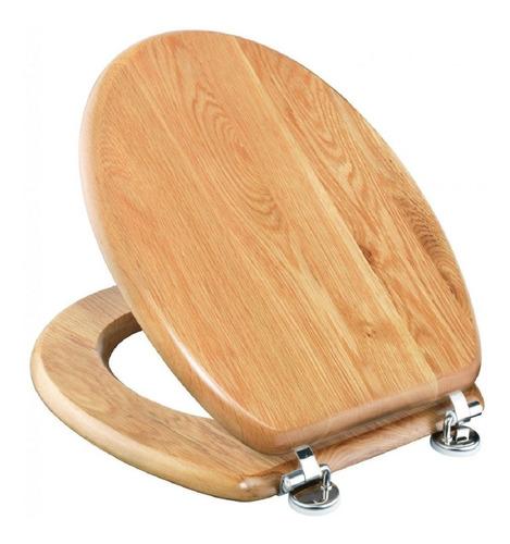 tapa de inodoro en mdf estilo madera roble claro