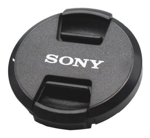 tapa de lente sony 55mm original