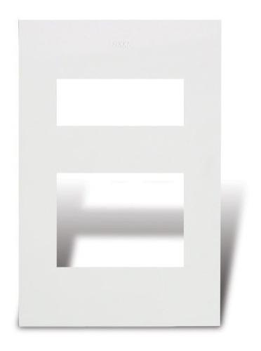 tapa de luz/ bastidor cambre siglo xxi 1/2/3/4 modulos