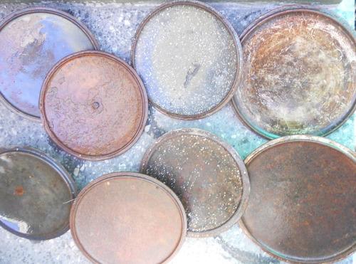 tapa de olla de hierro, fundicion enlozada, disco de arado,