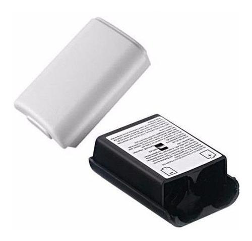 tapa de pilas joystick xbox 360 blanco o negro local publico