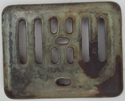 tapa de recipiente para recoger cenizas de cocinas carelli