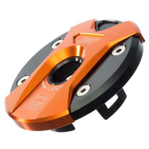 tapa de tanque para moto bws sep modelo 4-naranja