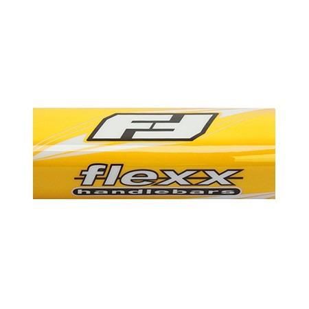 tapa de vinilo para manubrio flexx amarillo cuatriciclo atv