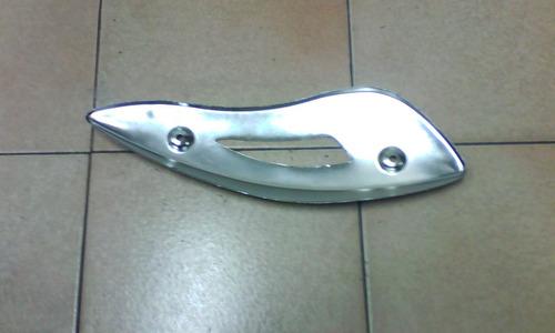 tapa decorativa cromada de tubo de escape bwk scooter ag