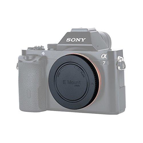 Cámara Tapa del cuerpo para Sony NEX E-Mount Lentes Serie E Nuevo Lente trasera polvo Tapa