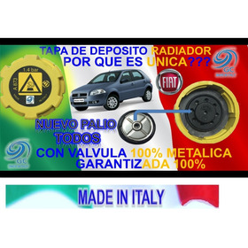 Tapa Deposito Envase Fiat Nuevo Palio Reforzada 1.4bar Italy