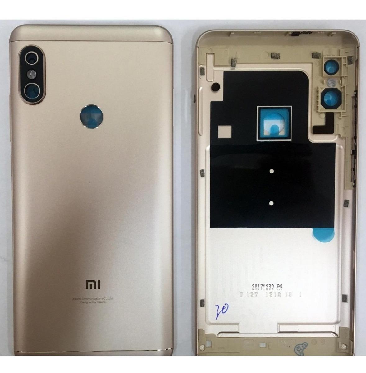 0ff599f9ffc Tapa Dorada Trasera Xiaomi Redmi Note 5 - $ 249.00 en Mercado Libre