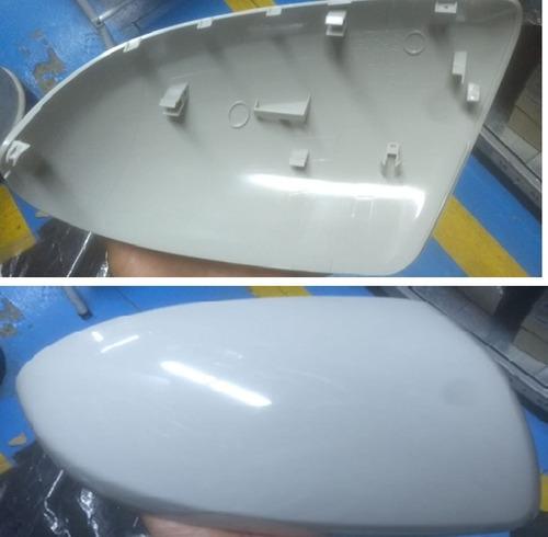 tapa espejo derecha original para mazda 2  2010 al 2014
