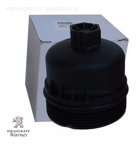 tapa filtro aceite 100% original citroen c3 picasso 1.6 16v