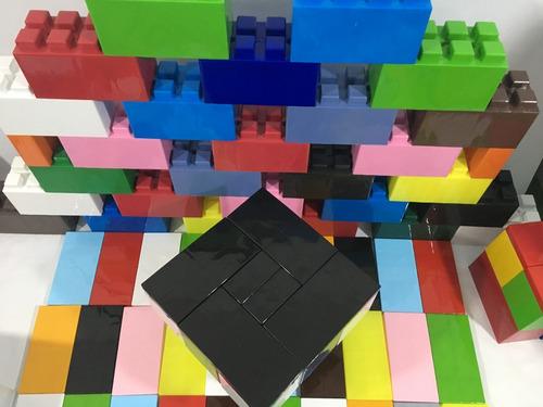 tapa grande para bloques plásticos