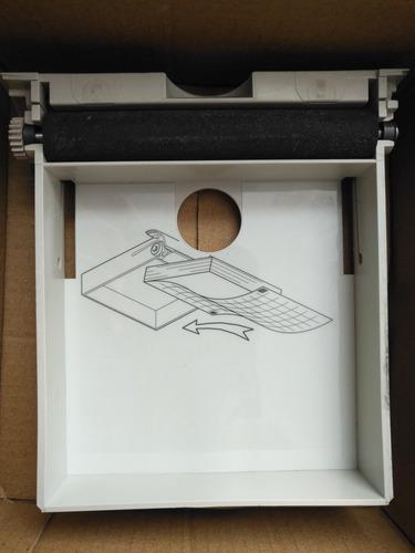 tapa impresora para desfibrilador zoll m series.