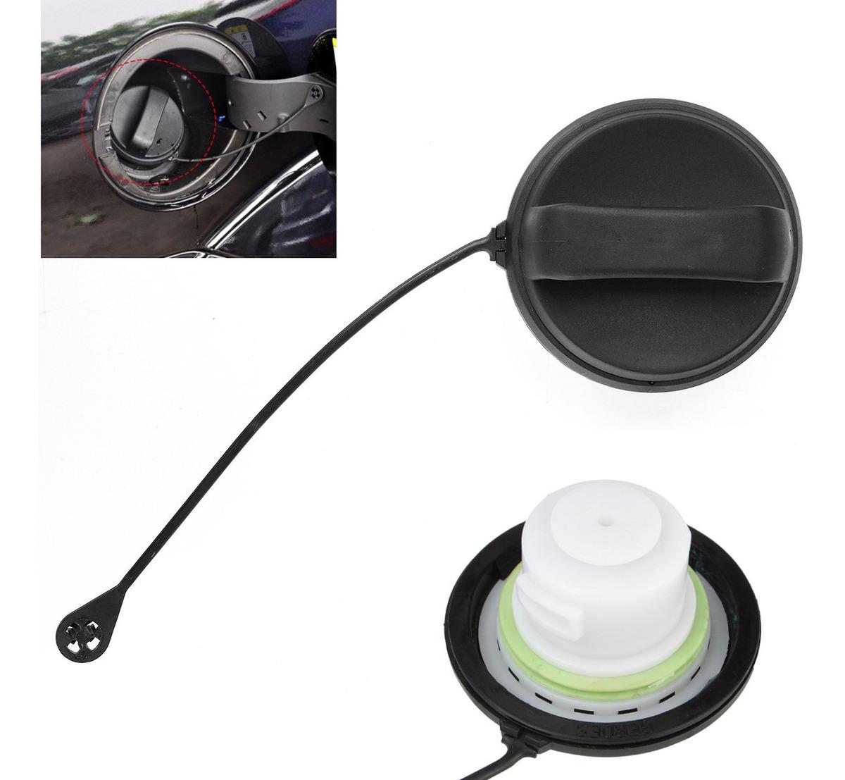 Tapa dep/ósito de combustible Tap/ón del Tanque Gasolina Durable Negro para Focus 2 II MK2 2005-2014