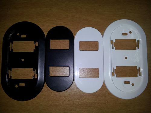 tapa interruptor switche para biticino doble