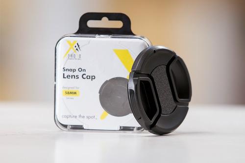 tapa lente 58 mm nueva entrega inmediata para nikon canon