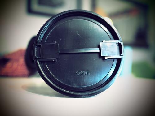 tapa lente 86mm nikon canon