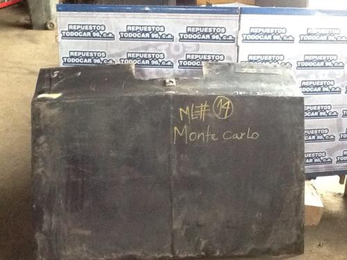 tapa maleta chevrolet monte carlo 81/82 original usado