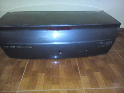 tapa maleta chrysler neon 2000/06